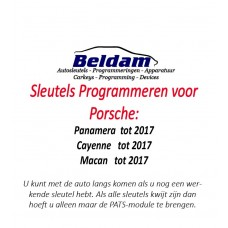 Porsche Sleutels Programmeren
