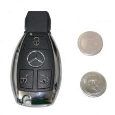 Mercedes Sleutel Chroom - Lege omhulsel