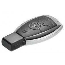Mercedes Sleutel Chroom - NEC Eeprom